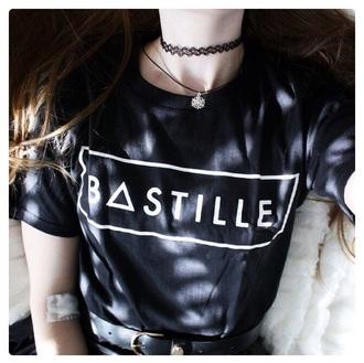 shirt black shirt bastille