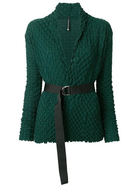 Pierantoniogaspari cardigan cardigan women wool green sweater