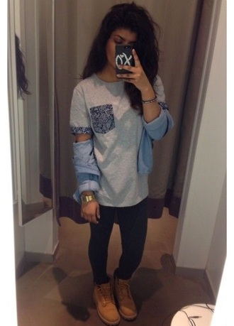 shirt t-shirt tee swag pockets