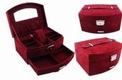 home accessory,box,red,velvet,jewelry box,casket,burgundy