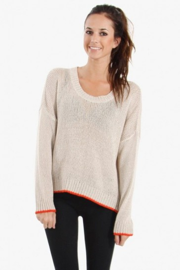 Cozy days knit sweater