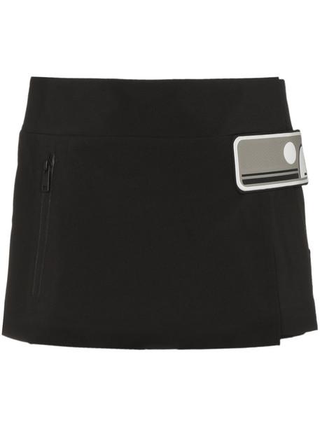 Prada skirt mini skirt mini women black