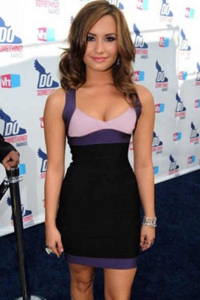dress cleavage wots hot right now bandage dress trendy