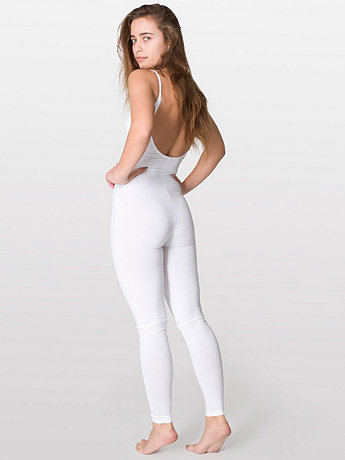 Cotton Spandex Jersey Unitard | American Apparel