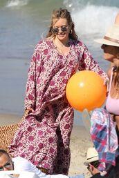 dress,hilary duff,sunglasses,maxi dress,beach,summer outfits,summer