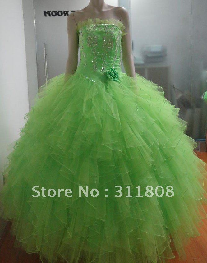 Aliexpress.com : buy top quality embroidery tulle ruffles quinceanera dress gown princess dress sweet 15 dress oyb029 from reliable dress womens suppliers on shanghai sally wedding dress factory