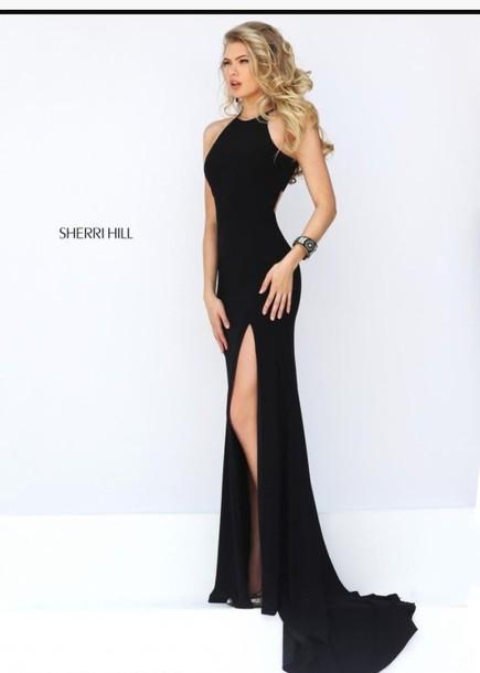 30e44de8e684 dress black dress long dress prom dress black long prom dress prom black  prom dress evening