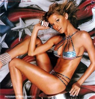 swimwear bikini america america american flag