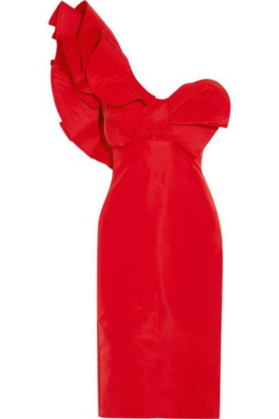 Johanna Ortiz dress silk red