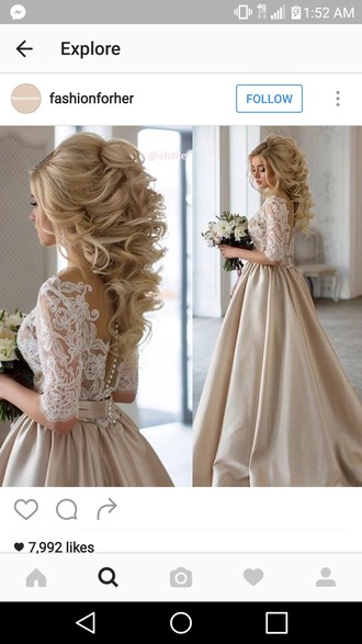 dress wedding dress wedding amazing perfect ido lace lace dress fancy ivory dress