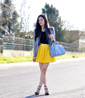 petit and sweet couture,jacket,t-shirt,skirt,bag,shoes,belt
