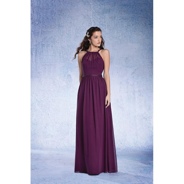 dress long bridesmaid dress necklace charming design alfred angelo prom dress