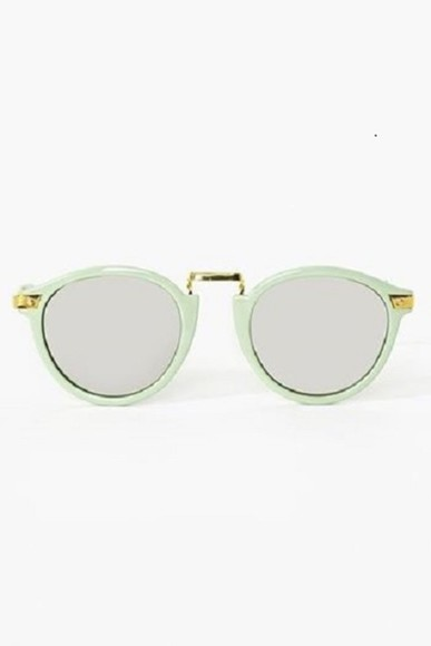 sunglasses round sunglasses shades green