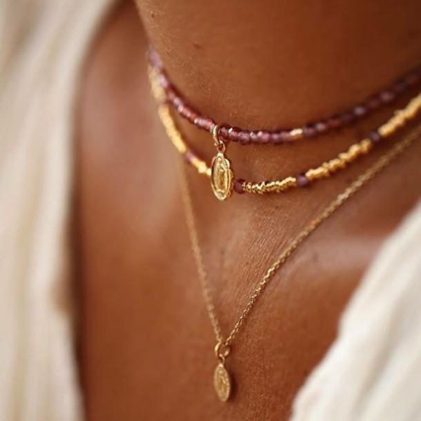 jewels jewelry collar gold jewelry minimalist jewelry necklace