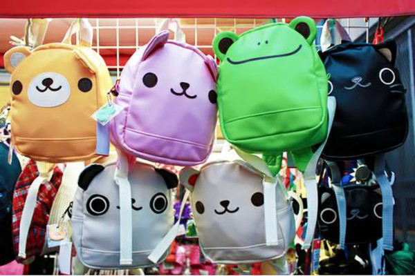 bag backpack kawaii cute animals