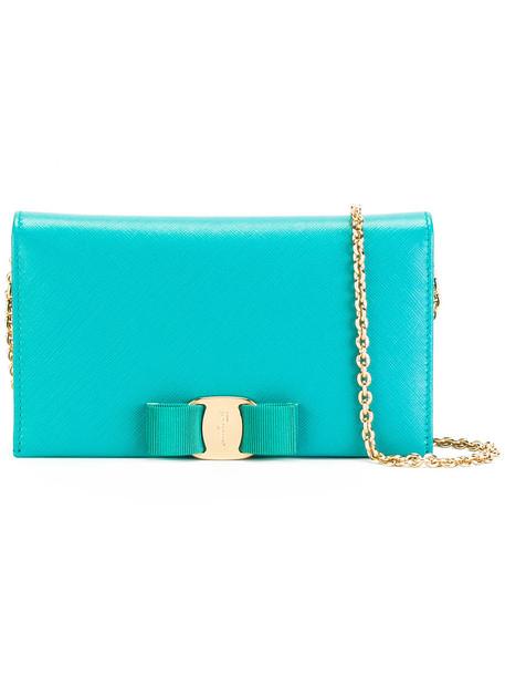 Salvatore Ferragamo women bag crossbody bag leather green