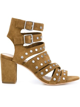 women sandals leather nude suede shoes