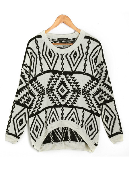 Tribal Shelle Sweater   Outfit Made