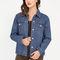Original classic denim boyfriend jacket blue - gojane.com