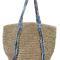 Boho beach bag - turquoise