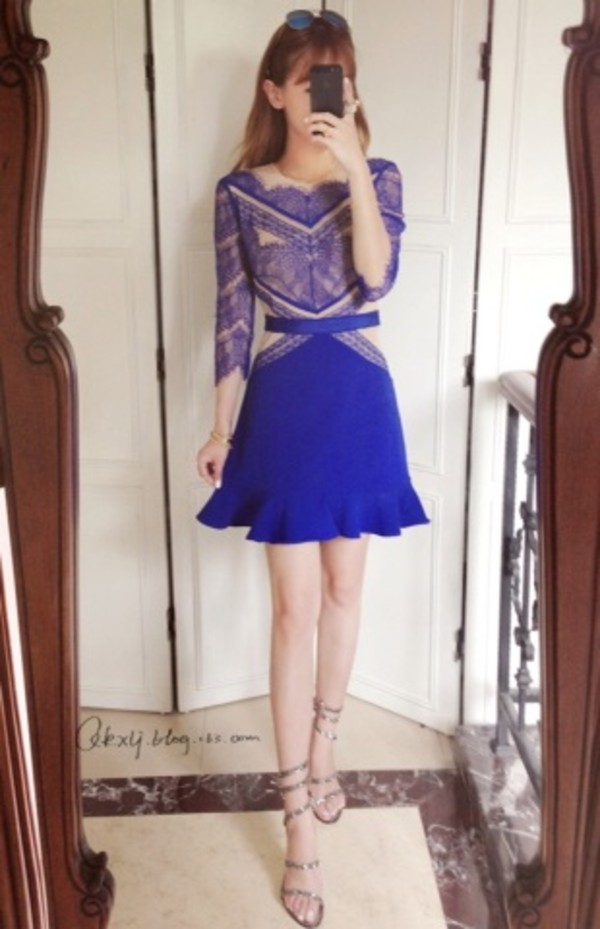 dress lace dress transparencia