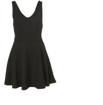 dress black black dress classic v neck vneck dress little black dress pretty
