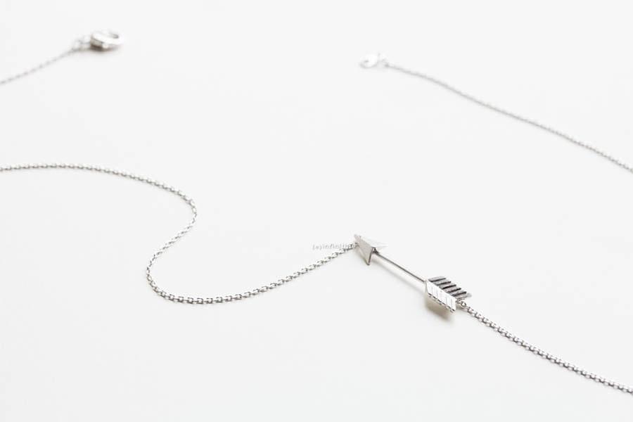 mini arrow necklaces,necklace for girlfriend,charm necklace
