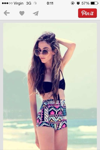 swimwear high waisted bikini