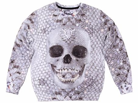 Original SEXY SWEATER DIAMOND SKULL | Fusion® clothing!