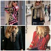 jacket,seenfromtaris,streetstyle,pretty girl,iconik,gold