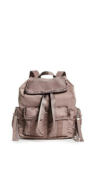 backpack taupe bag