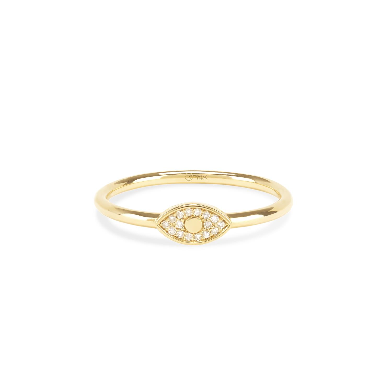 Diamonds Pavé Evil Eye Ring