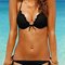 Sweet wavy-edge bikini|disheefashion