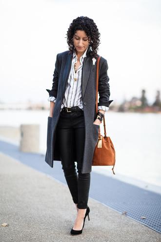 alterations needed blogger coat shirt pants shoes bag belt jewels