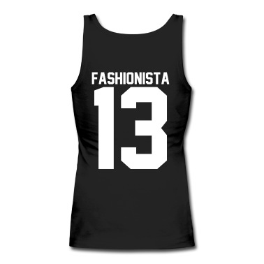 Fashionista 13 Tank Top | Spreadshirt | ID: 13714825