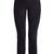 Slim-leg stretch-suede trousers