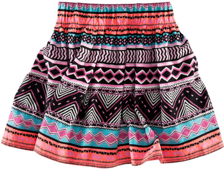 H&m Skirt in Multicolor (cerise) | Lyst