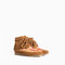 Ankle boot with fringes and embroidery - shoes - girl (3 - 14 years) - kids | zara united states