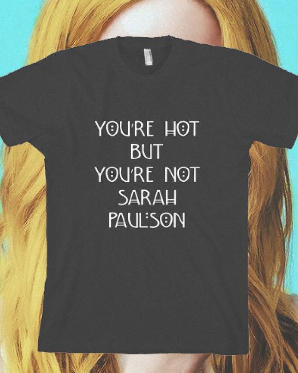 t-shirt sarah paulson american horror story american horror story lana banana lana winters cordelia foxx supreme