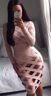 dress,dream it wear it,clothes,pink,pink dress,nude,nude dress,long sleeves,long sleeve dress,kylie jenner,see through,mesh dress,bodycon,bodycon dress,party dress,sexy party dresses,sexy dress,party outfits,summer dress,summer outfits,spring dress,spring outfits,fall dress,fall outfits,winter dress,winter outfits,classy dress,elegant dress,cocktail dress,date outfit,birthday dress,romantic summer dress,romantic dress,graduation dress,clubwear,club dress,celebrity,celebstyle for less,engagement party dress,cute,cute dress,girly,girly dress