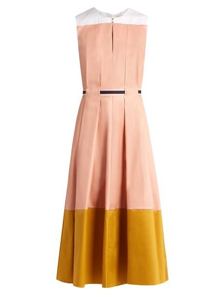 Roksanda dress midi dress midi pink