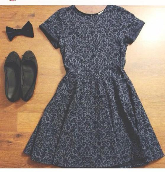 print short black print dress short sleeve short sleeve dress pattern