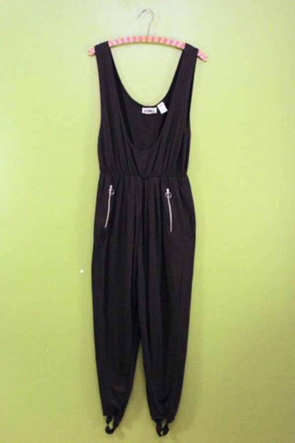 jumpsuit black romper