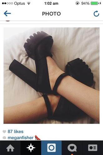 shoes city black heels tumblr boots