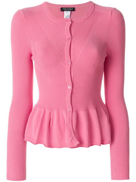 Twin-Set cardigan cardigan women purple pink sweater