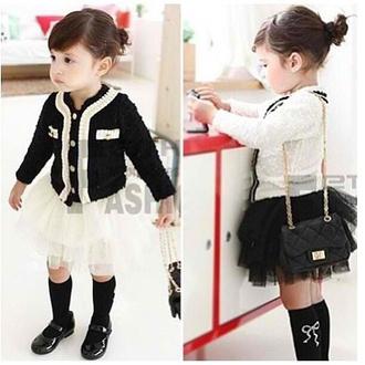 cardigan baby clothing audrey kids fashion tutu