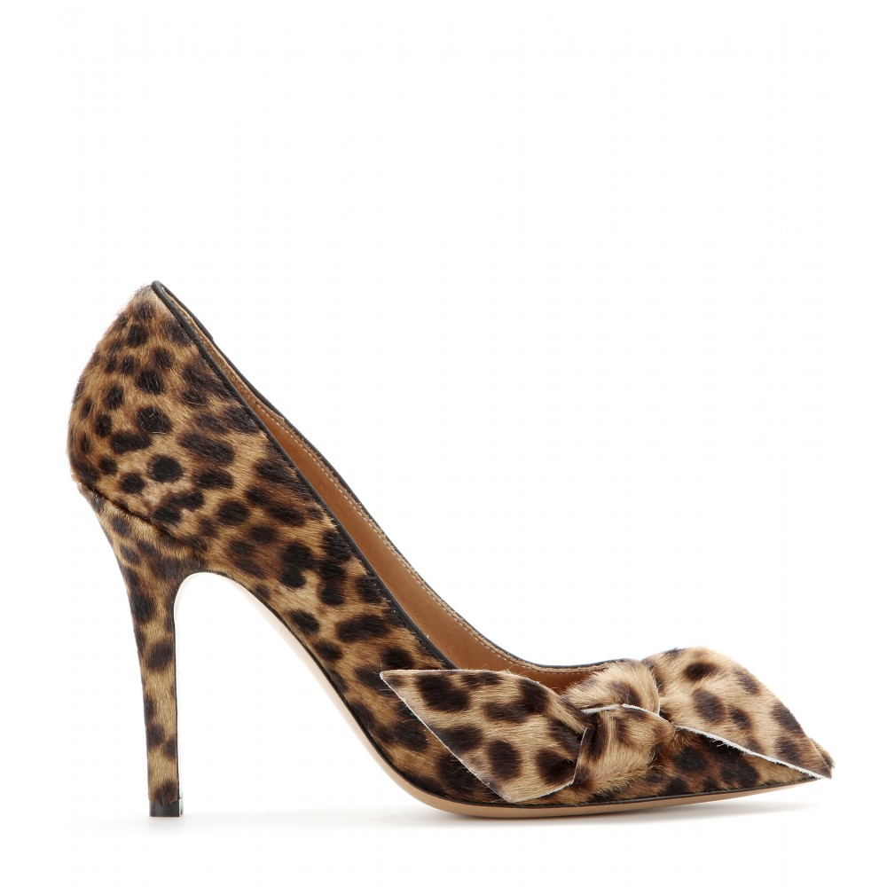 mytheresa.com - Poppy calf-hair pumps - High heel - Pumps - Shoes - Luxury Fashion for Women / Designer clothing, shoes, bags