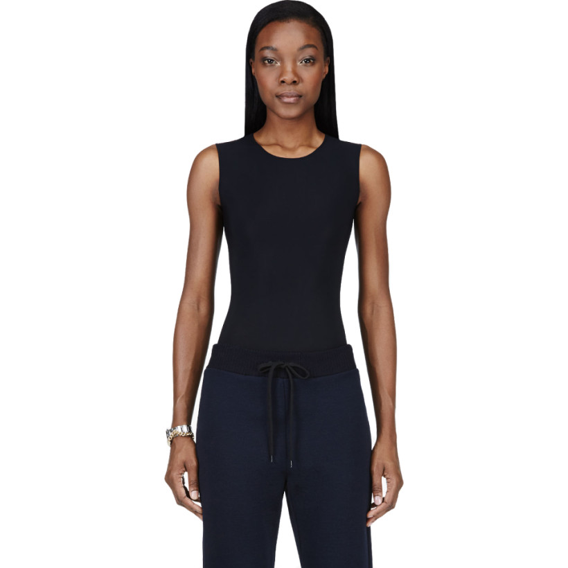 Maison Martin Margiela - Black Stretch Classic Bodysuit