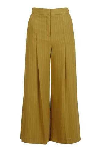 pants wide-leg pants cropped pants