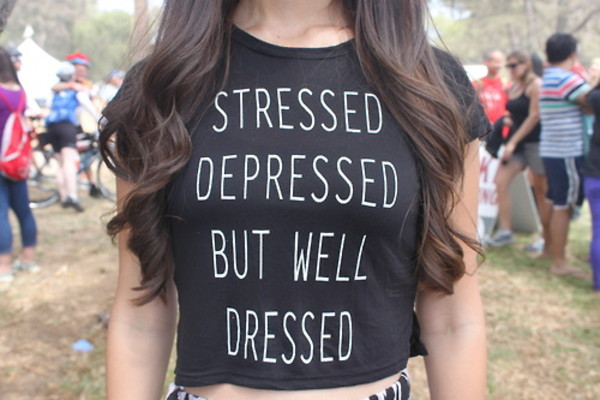 shirt stressed depressed but well dressed stressted black white black and white shirt cropped cropped black and white shirt